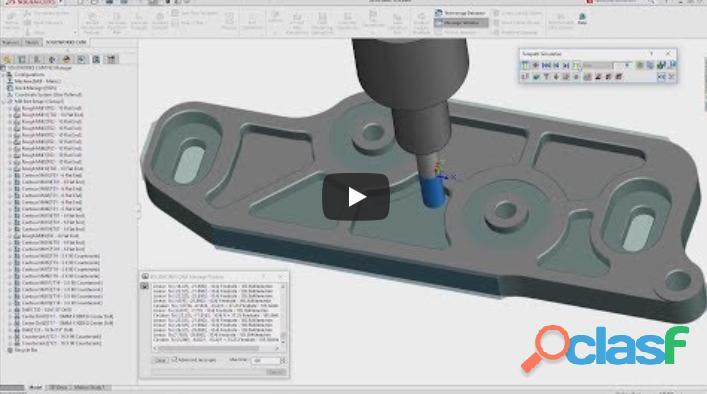 ★ ?? Curso de Solidworks y Programación Cnc | Diseño 3D CAD 1