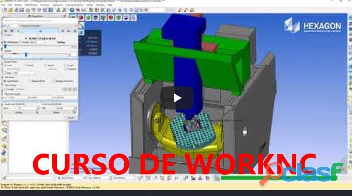 ★ ?? CURSO DE WORKNC Y PROGRAMACIÓN CNC | DISEÑO 3D 0
