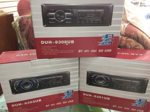 Reproductor Pioneer Bluetooth Carro Mp3 Usb Tarjeta Sd 0