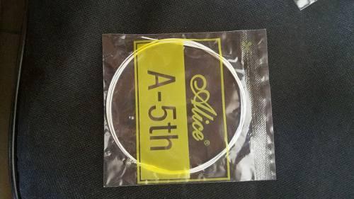 Cuerdas De Guitarra Acustica Alice 0