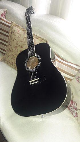 Guitarra Acústica Cuerdas De Metal Fremaster 0