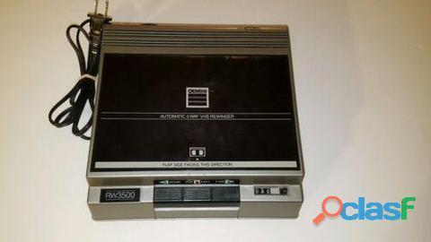 REBOBINADOR DE CINTAS VHS, Marca GEMINIS. 0
