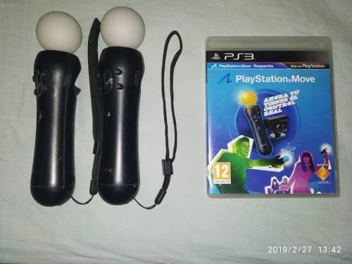 Mandos Playstation Move Para Ps3 Y Ps4 0