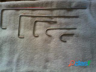 fabricacion de ganchos de acero inoxidable de todas las medidas 1