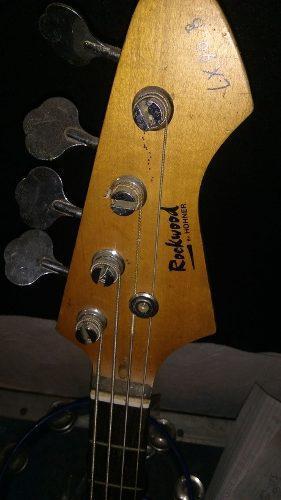 Bajo Electrico Rock Wood Honner 0