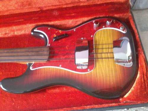 Bajo Fender Presicion Fretless. 0