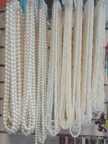 Tira Collar Perlas Para Bisuteria Lazos Y Manualidades 0