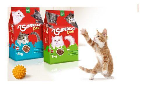 Gatarinaa Superdeli Cat 8kg Importado (alimento Para Gatos) 0