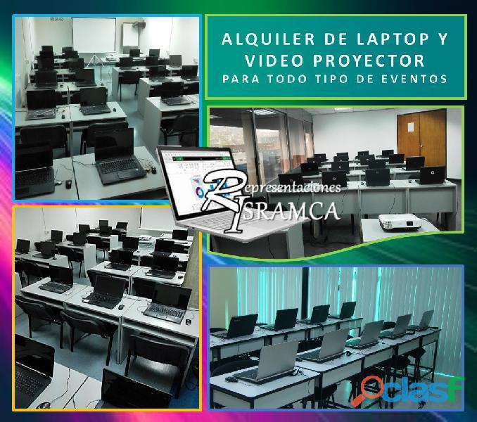ALQUILER DE LAPTOP Y VIDEO PROYECTOR 0