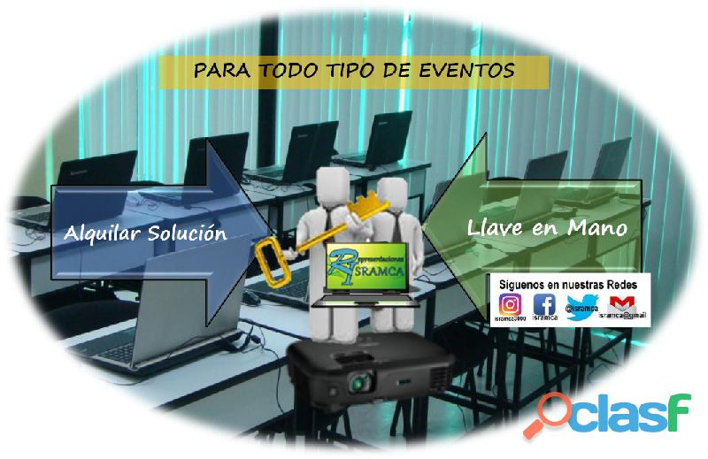 ALQUILER DE LAPTOP Y VIDEO PROYECTOR 5