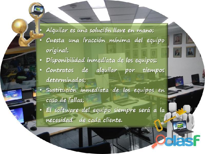ALQUILER DE LAPTOP Y VIDEO PROYECTOR 2