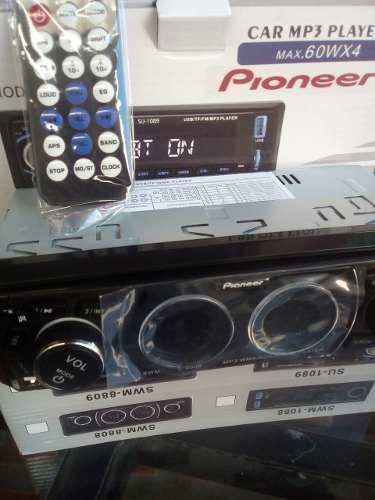 Reproductor De Carro Pioneer Mp3 Usb Sd Radio Control 0