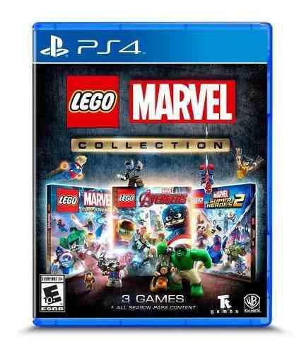 Juego Lego Marvel Collection Ps4, Incluye 3 Juegos 0
