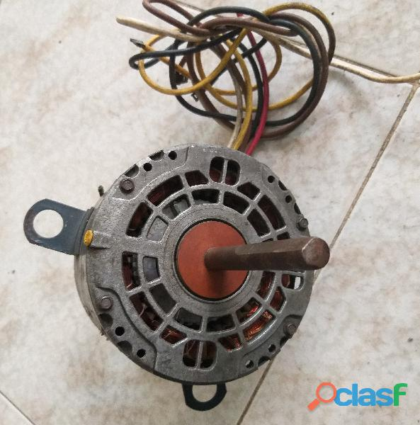 Motor ventilador doble eje 220 VAC para A/A 0