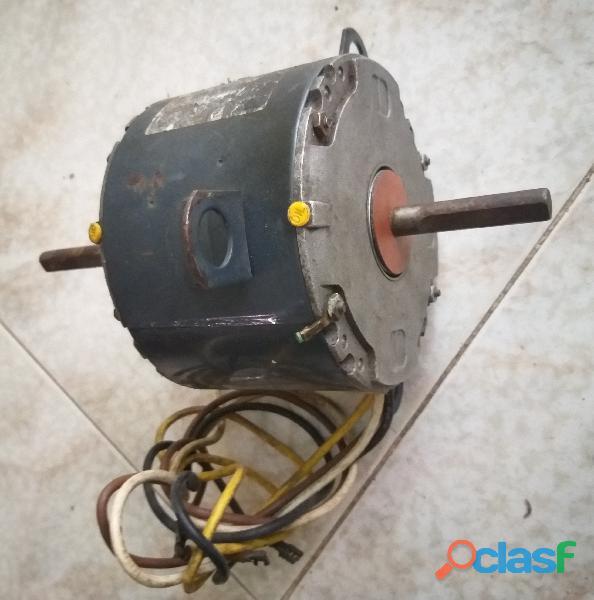 Motor ventilador doble eje 220 VAC para A/A 2
