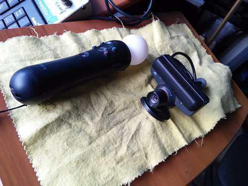 Ps3 Eye Camera & Move Controller Bundle 0