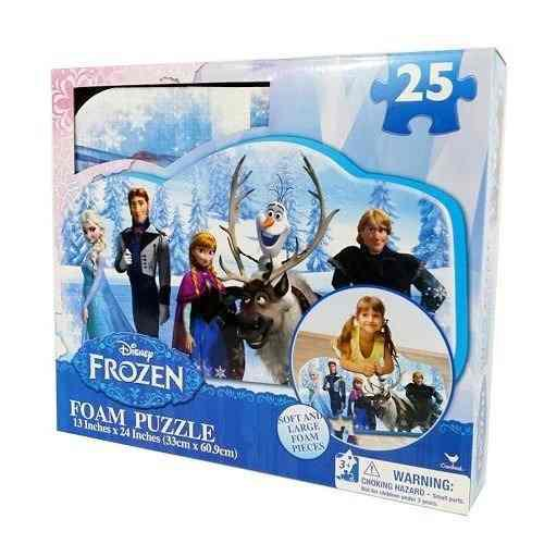 Alfombra De Foami Frozen Niñas Puzzle Juguete Olaf 0