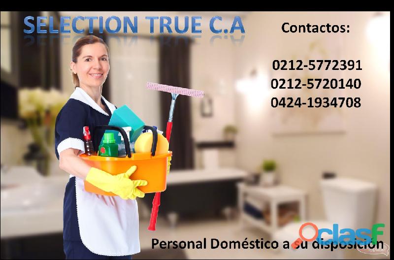 Agencia domesticas selection true c.a. 1