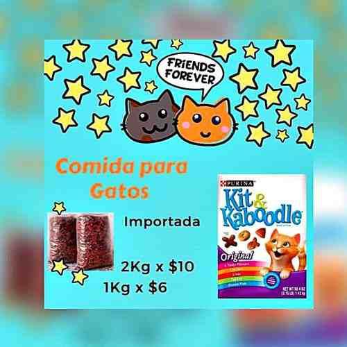Comida Para Gatos Importada Por Kg 0