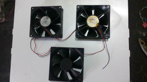 Fan Cooler O Extrator Ventilador Calor Para Pc 12v De 90mm 0