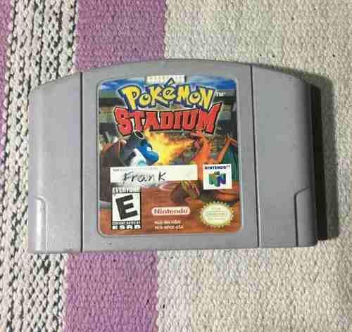 Juego Nintendo 64 Pokemon Stadium 0