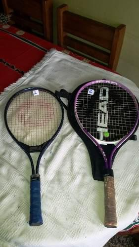 Raquetas De Tenis Junior Spalding Y Head 0