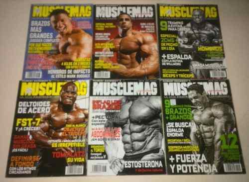 17 Revistas De Físico Culturismo Usadas (10$) 0