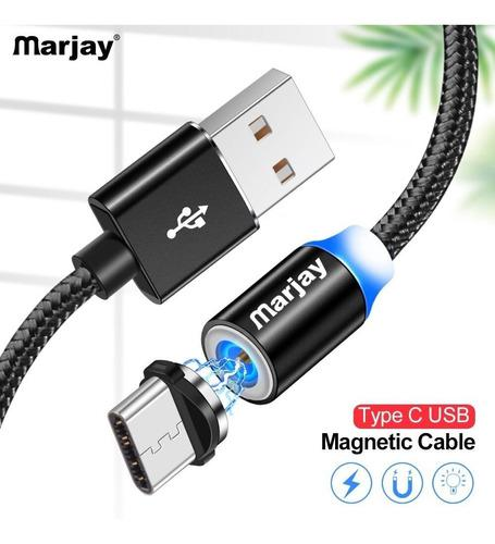 Cable Usb Magnetico Para Carga Micro, iPhone, Tipo C Cod 597 0