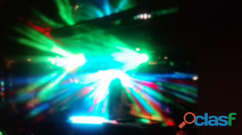 Miniteca dancing light disco movil