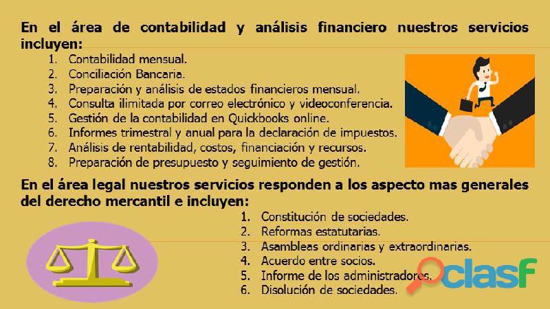 Oficina jurídico contable contador y abogado