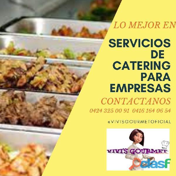 longs comidas almuerzos postres pasapalos coffebreack refrigerios para empresas y servicio para avio
