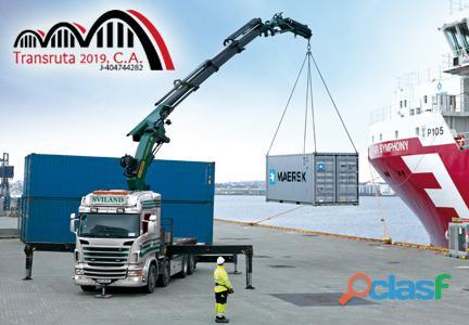 Transruta 2019, C.A Alquiler de Camiones con Brazo Hidráulico. 2