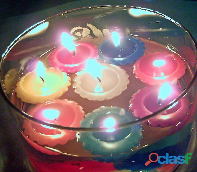 Bellas velas decorativas aromáticas, personalizadas hechas a mano
