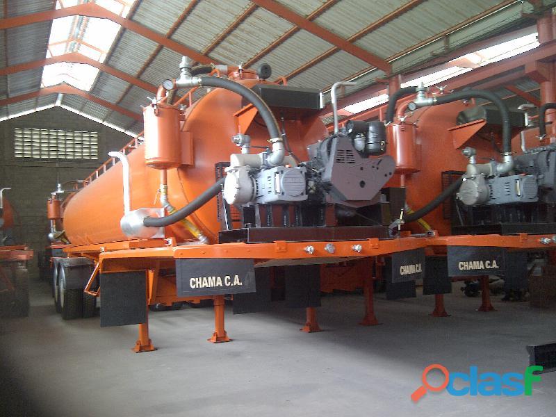 Vacuum 160 barriles con y sin motor compresor
