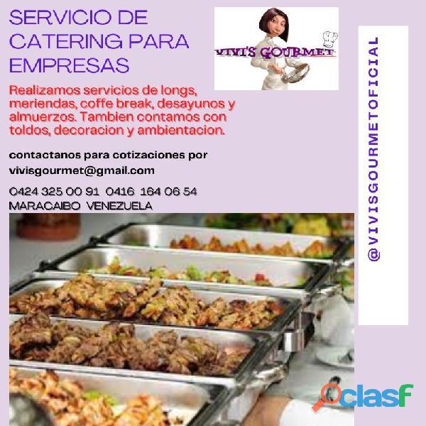 festejos refrigerios y catering para eventos reuniones corporativo