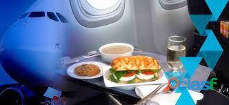 Servicios vip de catering para aviones privados
