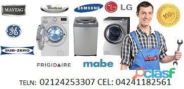 Reparación de neveras lavadoras secadoras digitales y morochas