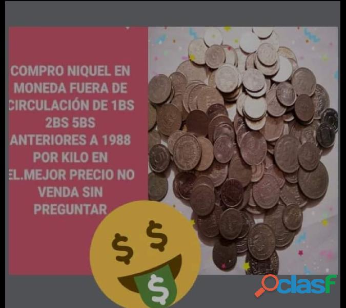 Compra de plata por kilo