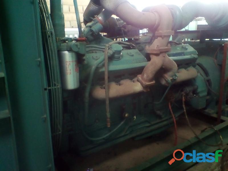 Planta electrica de 700kva marca: detroit diesel