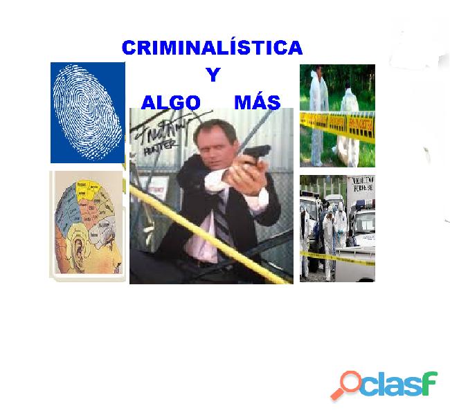 CURSO TÉCNICO INVESTIGACIÓN CRIMINAL 1
