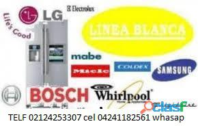Técnico lg caracas 02124253307