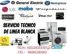 Servicio técnico autorizado whirlpool y lg mabe garantizando