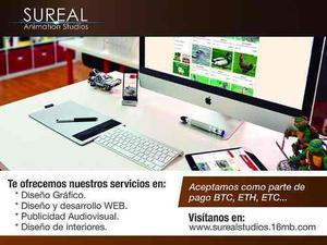 Diseño de publicidad para web, impresa o audiovisual