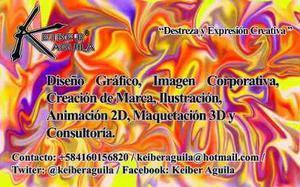 Diseño gráfico, animación 2d, maquetacion 3d
