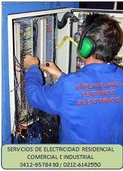 Electricista viplus jhu servicios electricos mantenimiento