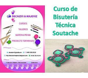 245e612b9dd8 Curso bisuteria soutache 【 ANUNCIOS Julio 】 | Clasf