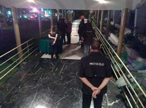 Protocolo y seguridad para eventos.