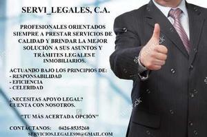 Servicios legales e inmobiliarios