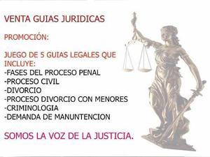 Venta de guias juridicas