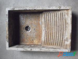 Batea de granito, usada. para empotrar.